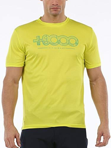+8000 T-Shirt Walk 20 V – T-Shirt pour Homme S Citron Vert