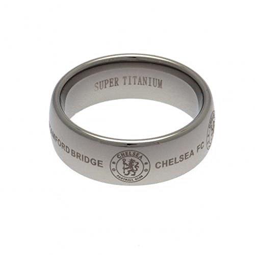Official Chelsea FC Super Titanium Ring (Large)