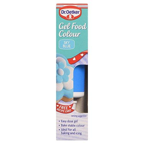 Dr. Oetker Gel Alimentaire de Couleur Bleu Ciel 99 g