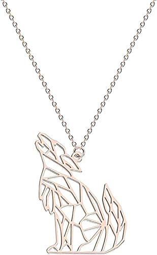 Collar, collar, mujer, collar, Mickey, alas angulares, pájaro, geométrico, encanto, joyería, infinito, collar, niñas, regalo, colgante, collar, regalo para mujeres, hombres, niñas, niños