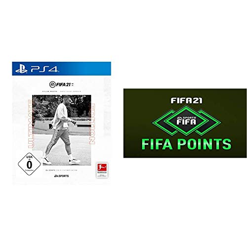 FIFA 21 Ultimate Edition [PS4] + 1050 FIFA Points [PS4 Download Code]