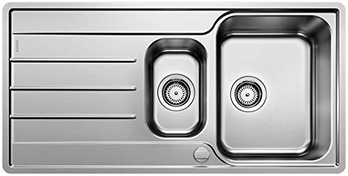 BLANCO LEMIS 6 S-IF – Fregadero para Cocina de Acero