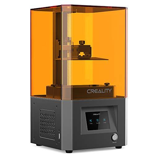 3D imprimante LD-002R, Technologie de Moulage LCD, 2K Précision Micron Niveau, 405nm Longueur d'onde de la Source Lumineuse UV, système d'air filtrage, Corps en métal + All-CNC, 119X65X160mm,LD002R