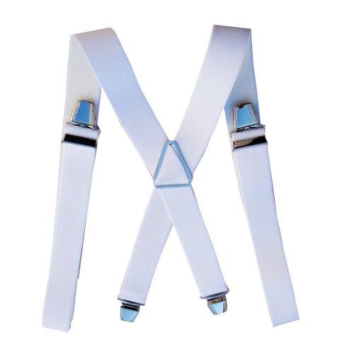 Bretelle blanche 120 cm à pinces