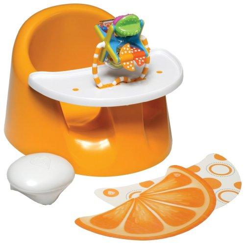 Cheapest Prices! Prince Lionheart bebePOD Flex Plus Baby Seat, Orange