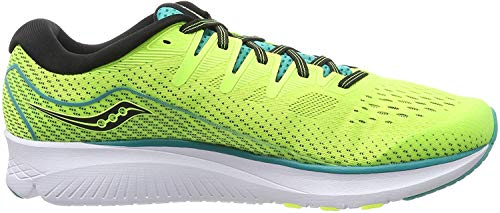 Saucony Ride ISO 2, Zapatillas de Running para Hombre, Verde Verde 37, 43 EU