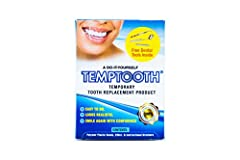 SMILE WITH CONFIDENCE: Construct a durable single tooth replacement from the comfort of your home QUICK FIX: The kit includes moldable material that most customers can sculpt into a realistic tooth in minutes. Temptooth is a single tooth replacement ...
