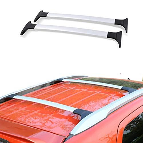 Piaobaige Para Ford Ecosport 2013-2020 Car Styling Aleación de Aluminio Barras Laterales Rieles Cruzados Rack de Techo Portaequipajes Rack 2Pcs