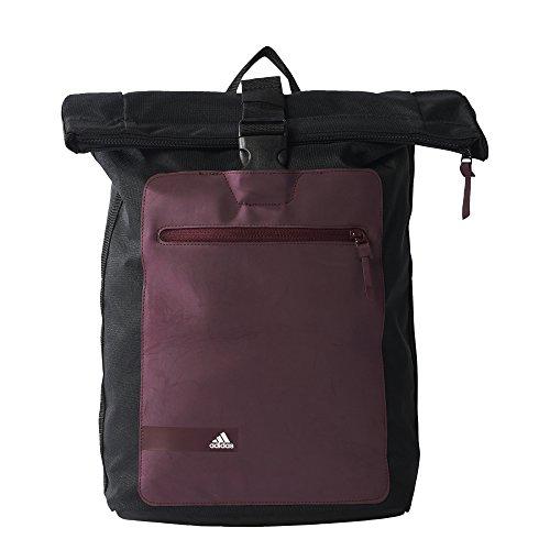 adidas Youth Pack Mochila, Unisex Adulto, Negro (Negro/Granat/Blanco), NS
