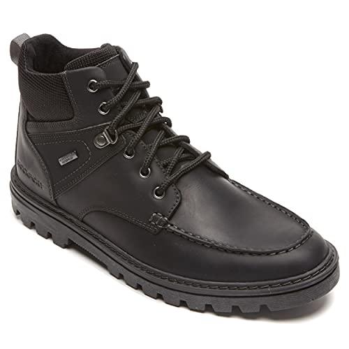 Rockport Men's Weather Ready Moc Toe Boot Hiking, Black...