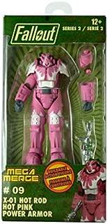 Fallout Mega Merge Series 2 - X-01 Hot Rod Hot Pink Power Armor