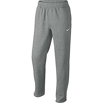 Nike Club Swoosh Men s Fleece Sweatpants Pants Classic Fit XXX-Large - Heather Grey/White