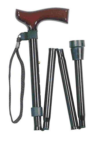 Canne pliable et ajustable Classic Canes - Noir - 78,7 à 88,9 cm