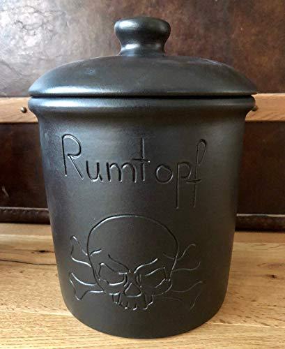 Schwarzer Rumtopf - Piraten Rumtopf 5 Liter #Rumtopf