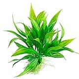 HWNGDI Césped Artificial de 15 cm de Hierba Artificial Plantilla de Agua Verde Hierba para Acuario Durable (Color : Green, Size : 15cm)