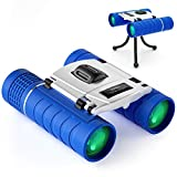 Binoculars for Kids, Compact Kid Binoculars for Bird Watching, Best Gifts Toys For 3 4 6 7 8 9 10 11 12 Year Old Boys Girls, Shock-proof High-resolution Real 10x22 Kids Binoculars for Boys and Girls