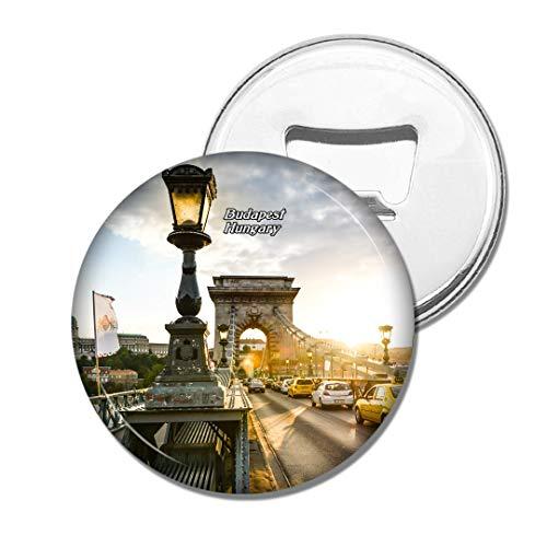 Weekino Ungarn Kettenbrücke Budapest Bier Flaschenöffner Kühlschrank Magnet Metall Souvenir Reise Gift