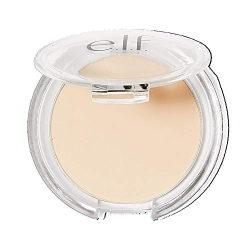 e.l.f. Prime & Stay Finishing Powder, Sets Makeup, Controls Shine & Smooths Complexion, Sheer, 0.17 Oz (4.8g)