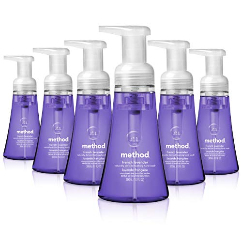 Method Foaming Hand Soap, French Lavender, 10 Fl Oz (Pack of 6)