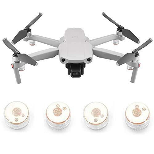 iEago RC Drone luz nocturna LED pequeña luz de advertencia con inserciones redondas para DJI Mini 2 / Mavic Air 2 / Mavic Mini / Spark / Mavic Air 1 / Mavic 2 Pro Zoom / Mavic Pro / Phantom 3/4