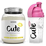 Cute Nutrition Boisson substitut de repas pour le contrôle de la perte de poids et l'énergie avec Shaker