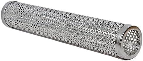 BBeeQ - Tubo para ahumar (30 cm, acero inoxidable, para barbacoa de gas y de carbón)