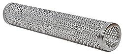 Räucherröhre BBeeQ® 30cm aus Edelstahl - Kaltrauch-Zubehör für Gasgrill und Kohlegrill - Räucherbox, Pellet-Smoker
