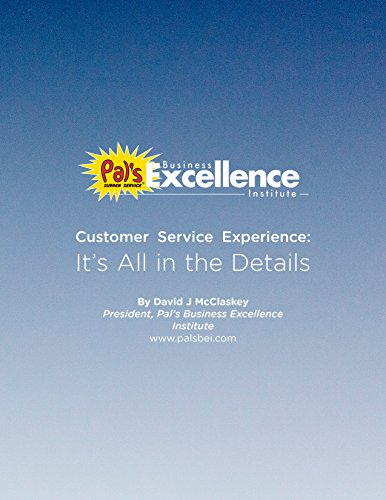 Customer Service Experience: It's All in the Details