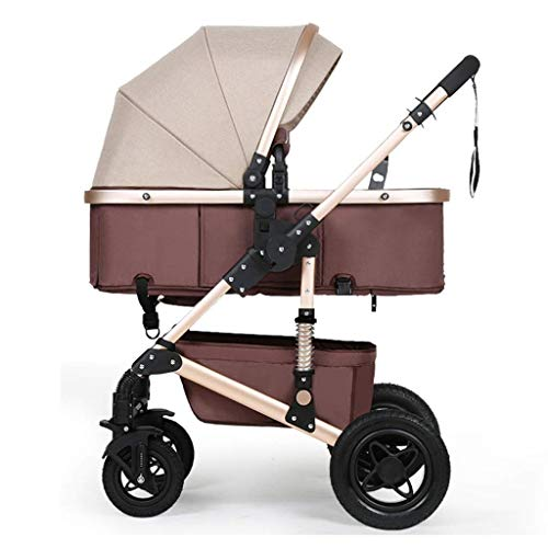 Best Price Luxury Baby Stroller for 0-3 Years Old Kids Foldable Convertible Bassinet Pushchair   Sho...