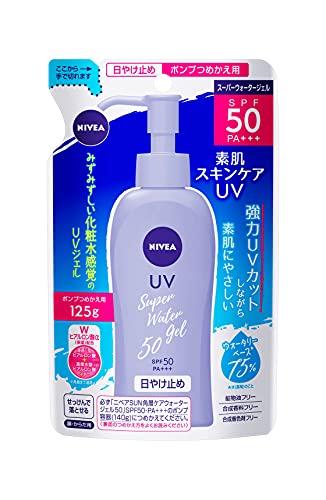 Nivea Sun Protect Super Water Gel SPF50 / PA +++ [refill] (125g)