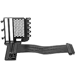 Grafikkarte Vertikal Halterung,GPU Halter,GPU Mount,Video Card Support Kit mit PCIE Riser Kabel-20cm