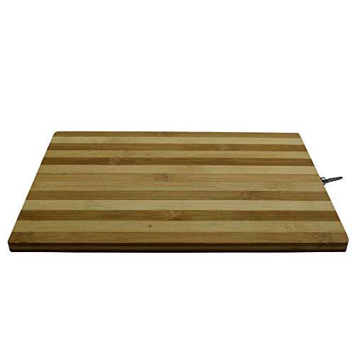 Amore Legno Sforza Tabla de cortar de madera, tabla de cocina, tabla de cortar de madera de bambú, de regalo, una manopla de color aleatorio, producto fabricado en Italia