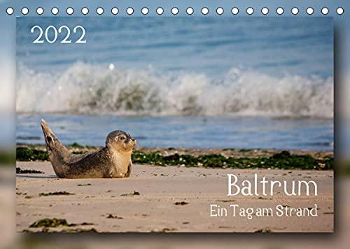 Baltrum - Ein Tag am Strand (Tischkalender 2022 DIN A5 quer)