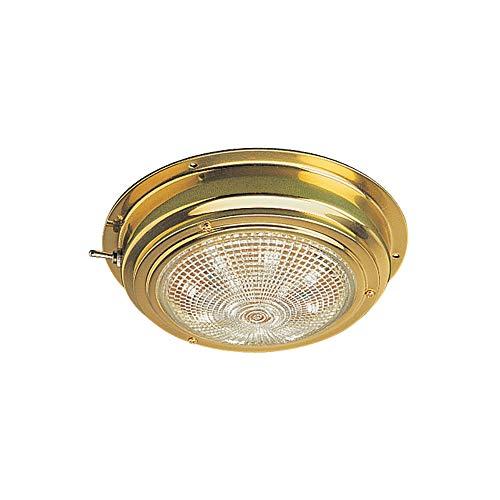 Sea-Dog Brass LED Dome Light - Lens 4'