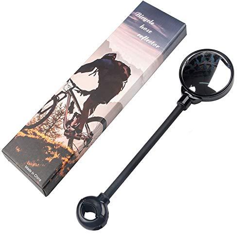 Espejo Retrovisor para Bicicleta, Espejos Retrovisores Universales de Gran Angular, Espejo Retrovisor Giratorio Ajustable de 360 °, para Bicicletas Carretera, Bicicletas Montaña, Vehículos Eléctricos