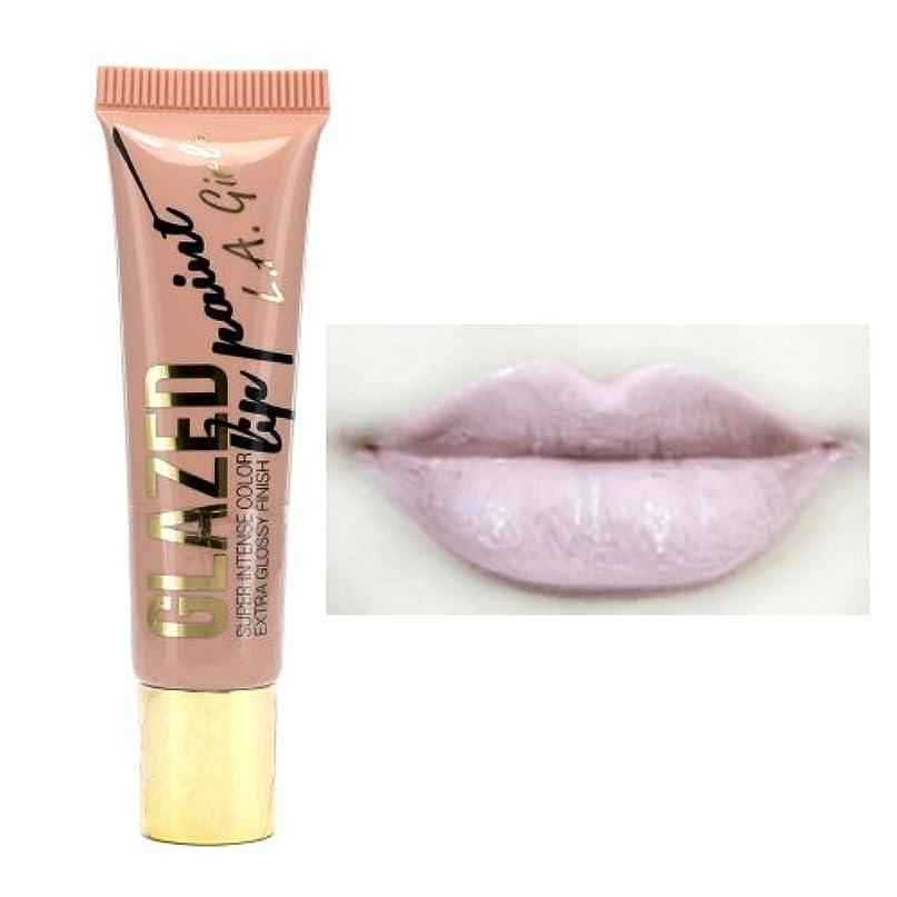 別々に香港安全な(3 Pack) LA GIRL Glazed Lip Paint - Whisper (並行輸入品)