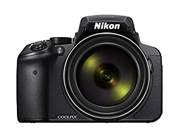 Nikon COOLPIX P900 16MP Zoom Digital Camera with 83x Optical Zoom Built-in Wi-Fi and NFC  Black   Renewed