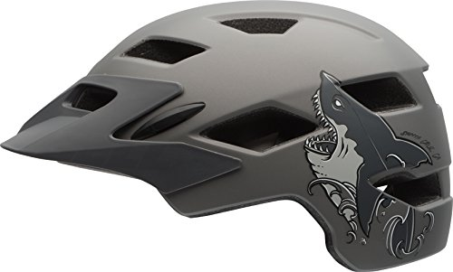 ell Sidetrack Youth Bike Helmet - Matte Titanium...