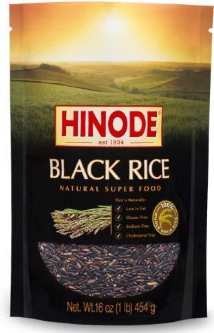 Hinode Black Rice, Whole Grain, 16 oz