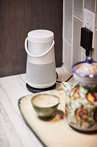 Bose SoundLink Revolve Plus Bluetooth Speaker Lux Grey – with Charging Cradle