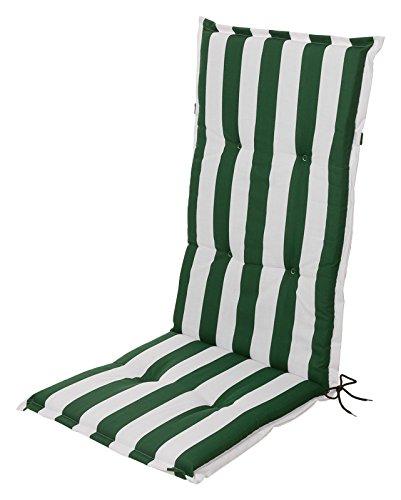 Collections chaises, fauteuils à dossiers hauts, collection pour assises de chaise, collection pour chaises de jardin, Blocs de couleurs vert blanc