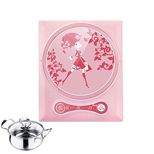 Platz Induktionsherd, Mini-Elektro-Kochplatte, Küchenarbeitsplatte Brenner, kochen heißen Topf gekocht Tee gekochte Nudeln gebrühten Kaffee gekocht Milch erhitzt Tee Herd Wohnzimmer Küche Schlafsaal B