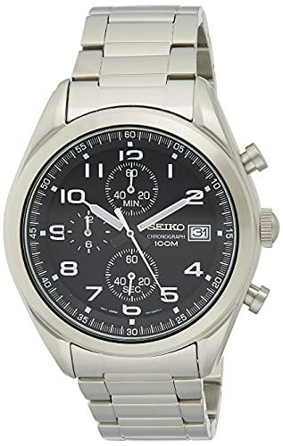 Seiko Reloj Cronógrafo para Hombre de Cuarzo con Correa en Acero Inoxidable SSB269P1
