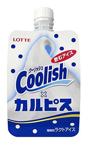 ロッテ クーリッシュ カルピス 140ml×24袋 【冷凍】(3ケース)