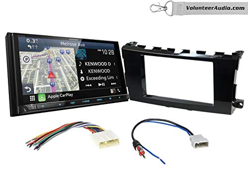 Buy Kenwood Excelon DNX996XR Double Din Radio Install Kit With Apple CarPlay, Android Auto, Sirius X...