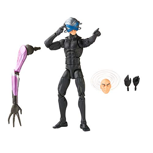 Hasbro Marvel Legends Series X-Men 6-inch Collectible Charles Xavier Action Figure Toy, Premium Design and 3 Accessories, Ages 4 and Up