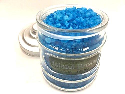 Island breeze OFFicial site bath salt oz glass container 12 Deluxe