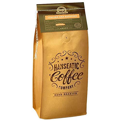Hanseatic Coffee Company Italian Bar Espresso, 1000g ganze Bohne, 1er Pack