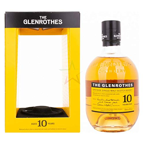 The Glenrothes 10 Years Old Speyside Single Malt Scotch Whisky 40,00% 0,70 Liter