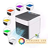 Tragbarer Luftkühler,Mit 3 Speed Desktop-Lüfter Verdunstungsbefeuchter Mobile Klimaanlage,USB Ventilatoren Air Cooler,Für Haus,Zimmer,Büro,B